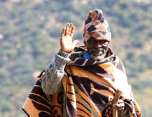 Blankets for Lesotho